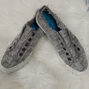 Silver Blowfish Malibu Sneakers